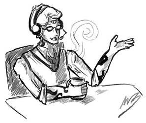 Cecil sketch by AprilsChild
