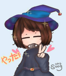Witch me!