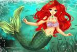 The little mermaid by Luciferys