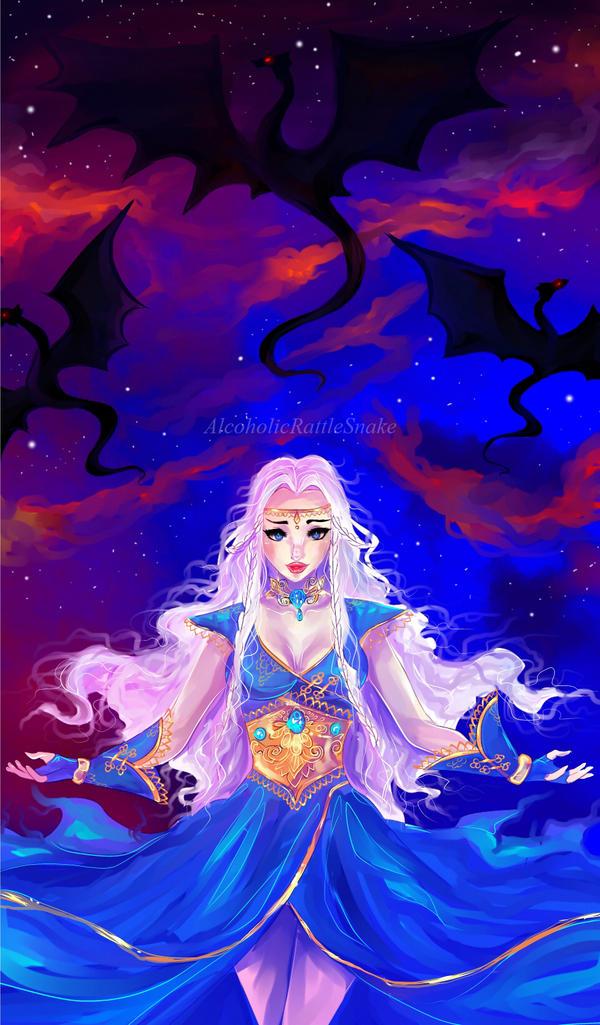 Daenerys Targaryen by AlcoholicRattleSnake