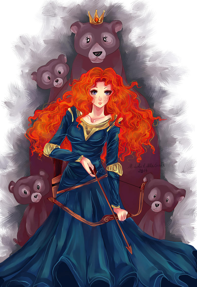 Merida by AlcoholicRattleSnake
