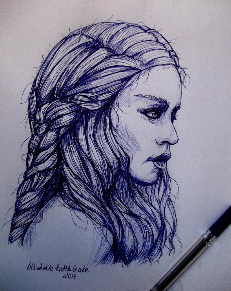 Khaleesi by AlcoholicRattleSnake