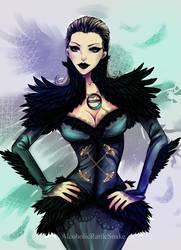 Dark Sansa by Luciferys