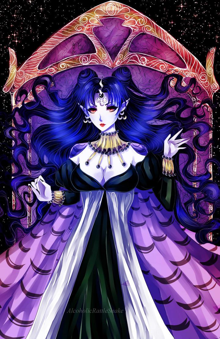 Queen Nehellenia by AlcoholicRattleSnake