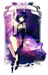 Saturn by Luciferys