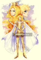 The Kingslayer, the Beauty and the Queen by Luciferys