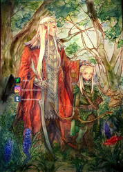Father and son by Luciferys