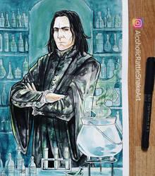Inktober Day 30: Severus Snape