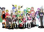 Vocaloids and UTAU Unite