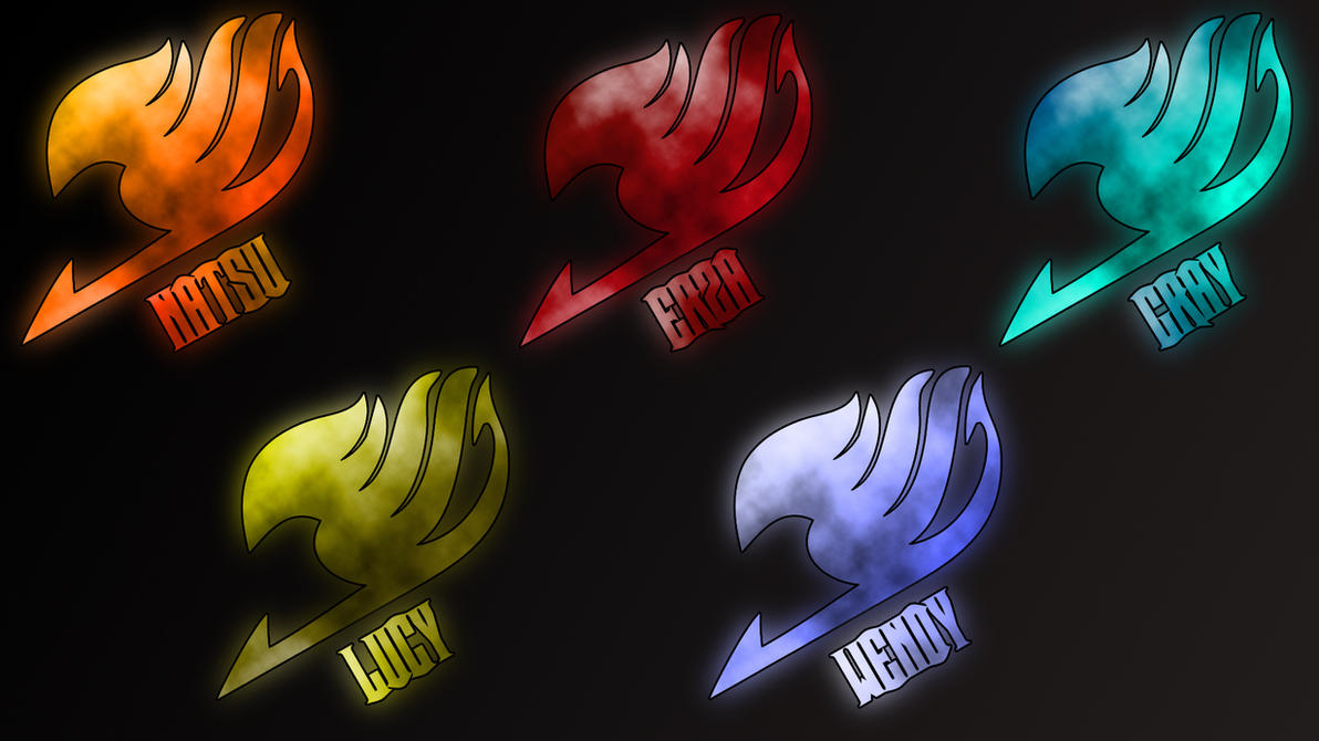 Fairy Tail Logo Gray Fairy Tail Logos by Anzachs