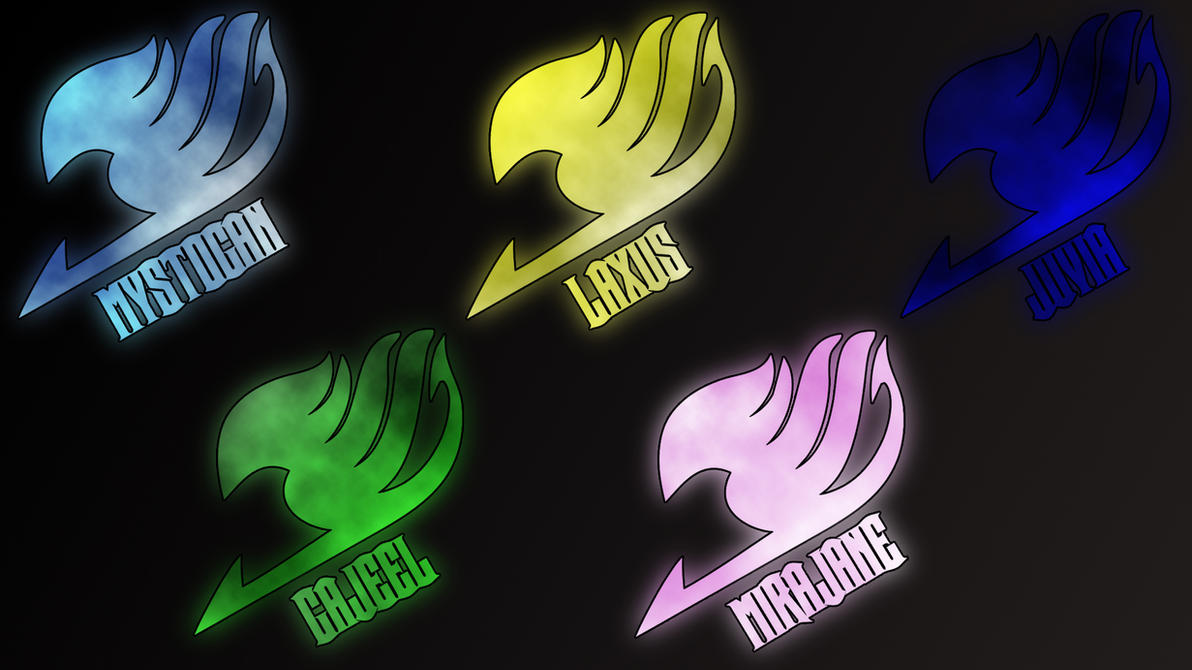 Fairy tail logos 2 by Anzachs