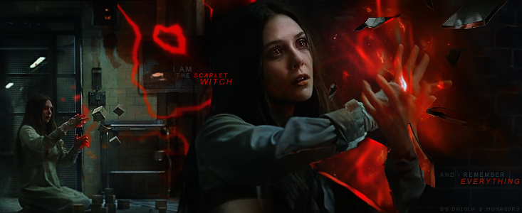 I Am The Scarlet Witch By Monagory