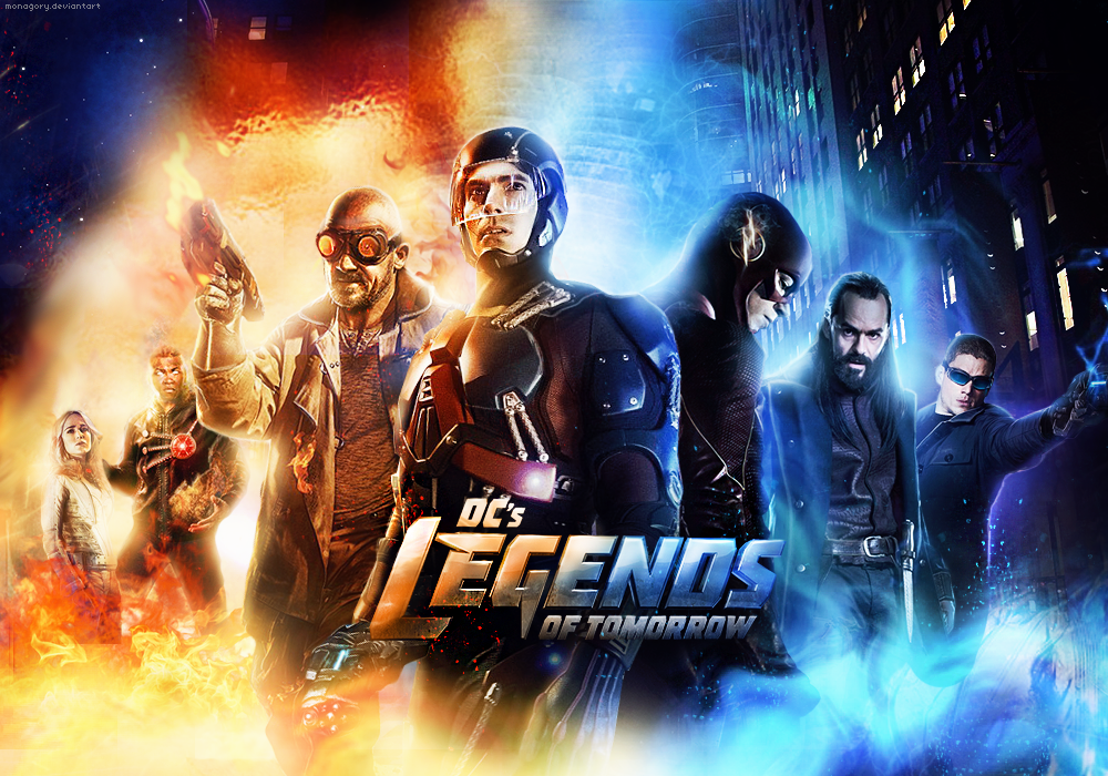 DC's Legends Of Tomorrow By Monagory On DeviantArt
