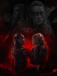 Lexa x Clarke | The 100 | No one fights for me by monagory