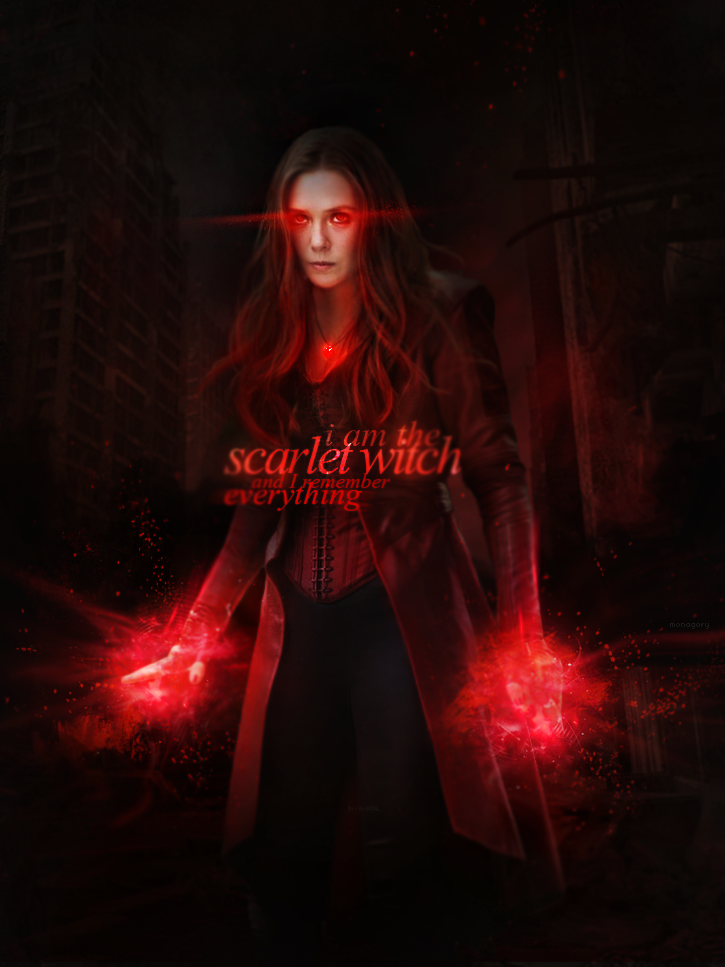 Scarlet Witch By Monagory