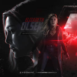 Scarlet Witch \ Elizabeth Olsen by monagory