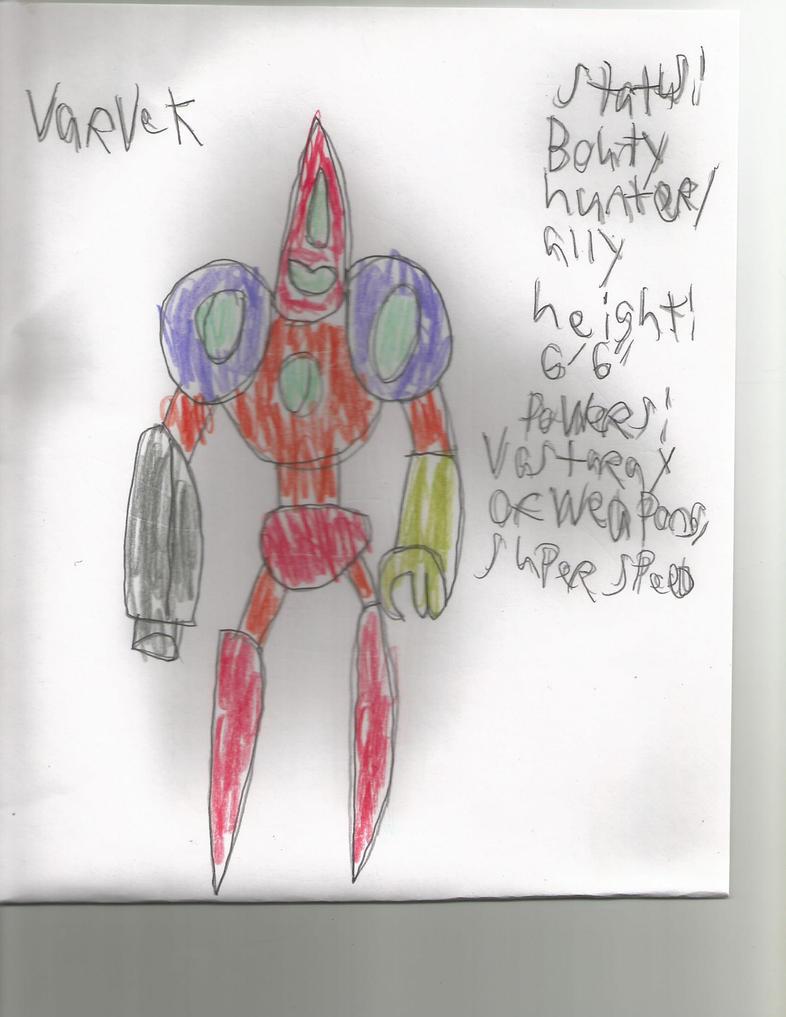 ftwdab characters: Varvek by symphonydestroyer
