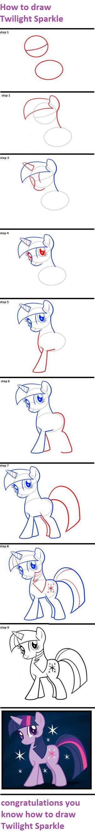 how to draw twilight sparkle eyes