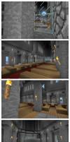 Minecraft Cathedral - Interior