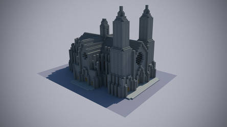 Catedral Minecraft
