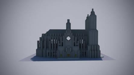 Catedral Minecraft 2