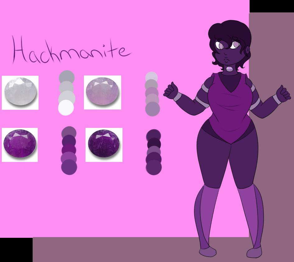 Gemsona: Hackmanite by xSpiralMoon-Doodlesx on DeviantArt