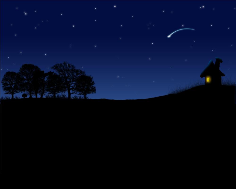 Background Night Sky By Templep2k2 On DeviantArt Sky Image