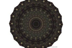 Dirty Green Pedal Kaleidoscope by CarlosAE