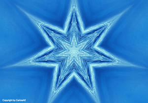 Water Star Kaleidoscope