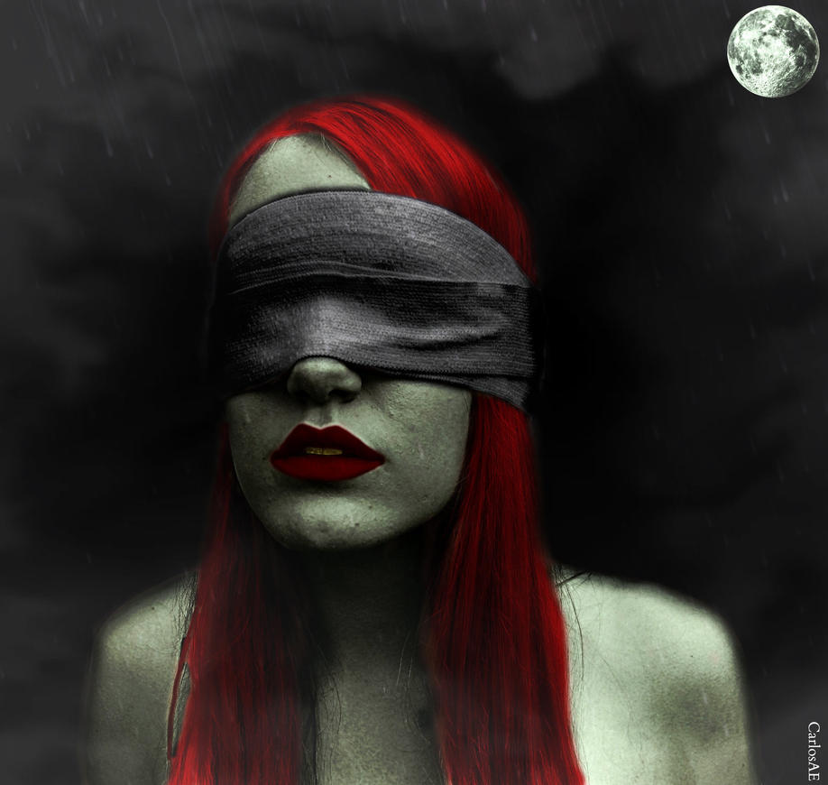 VENGO A MORDER ALGO Red_headed_sightless_zombie_by_carlosae-d6enq71