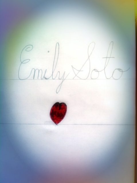 Emily Soto Calligraphy By Carlosae