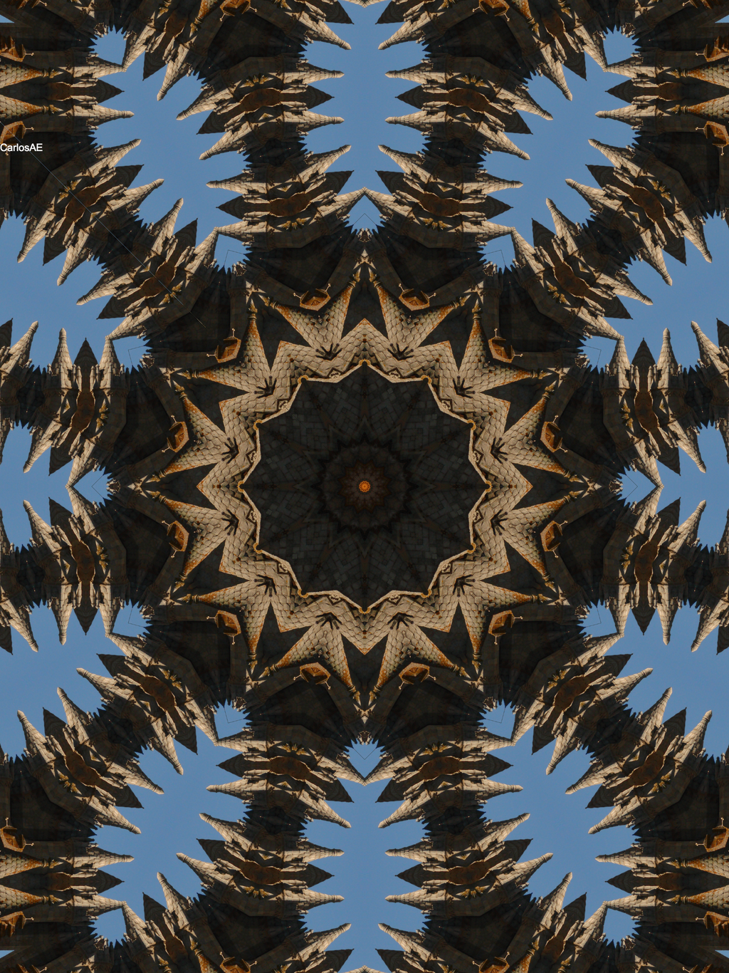 Sun of a castle towers kaleidoscope by carlosae on deviantart for Sun castle