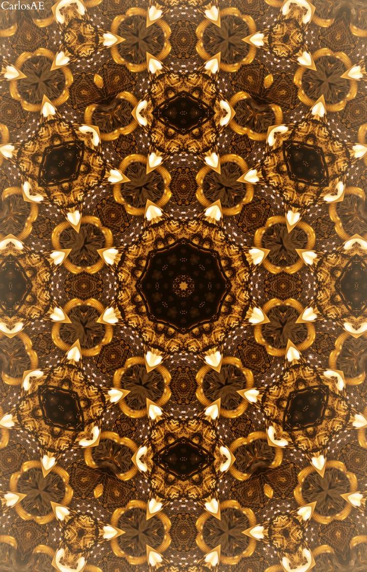 Brown Fractal Virus by CarlosAE