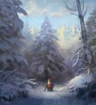 Snowy gnome
