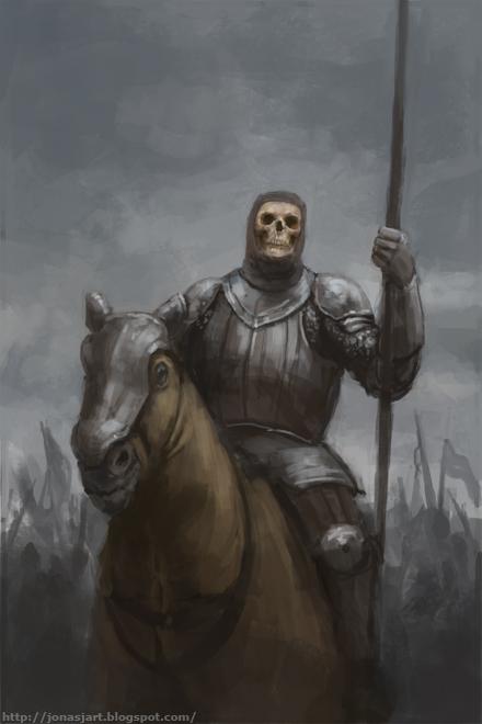Undead Knight by JonasJensenArt