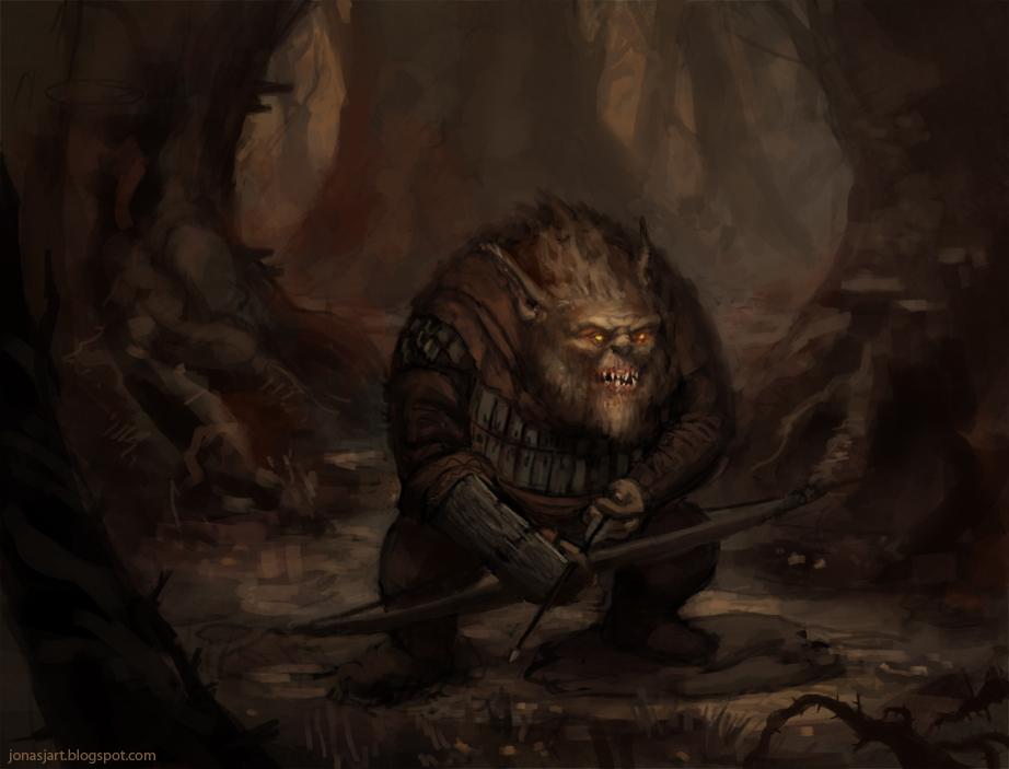 Goblin Archer by JonasJensenArt