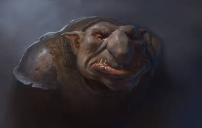 Troll Portrait by JonasJensenArt