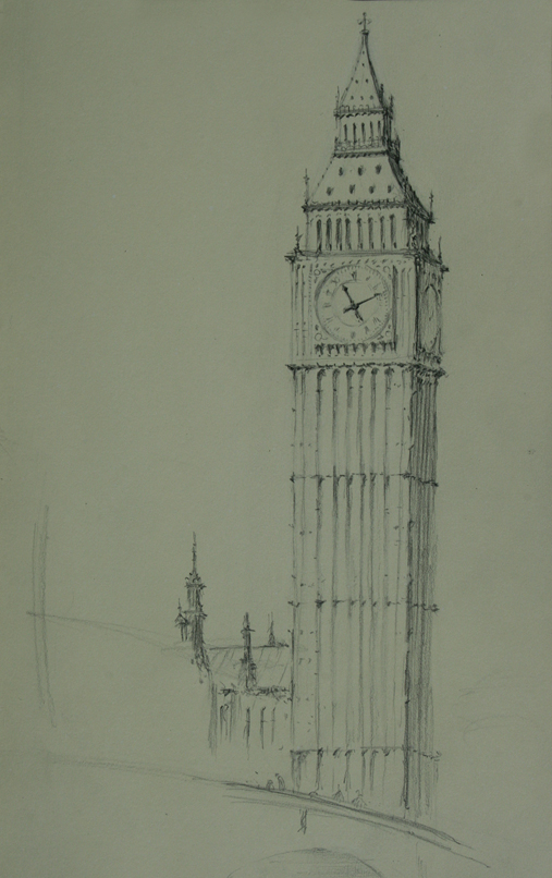 big ben doodle - photo #33