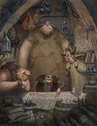 Four Thieves by JonasJensenArt