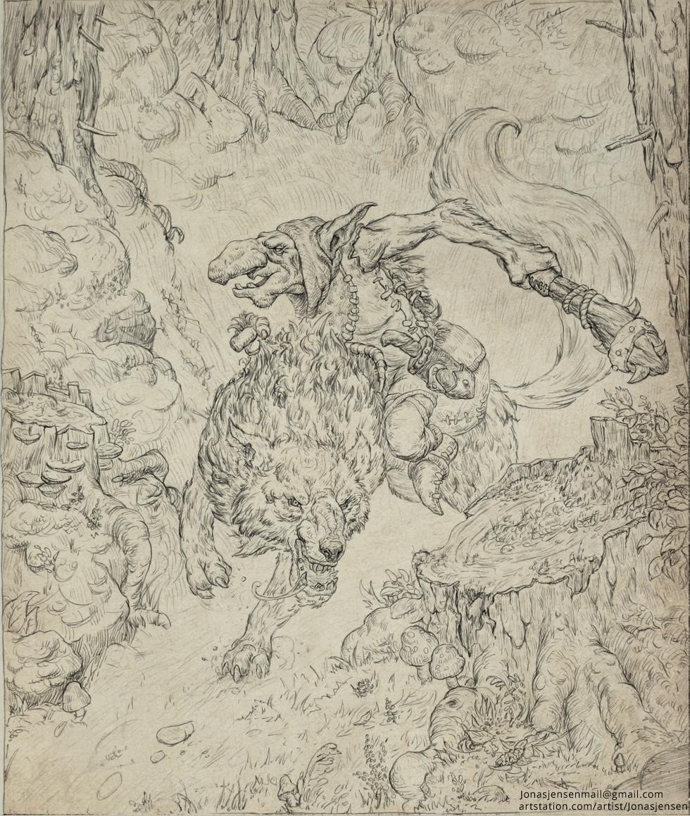 Goblin Wolfrider
