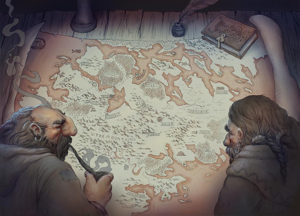 The map by JonasJensenArt