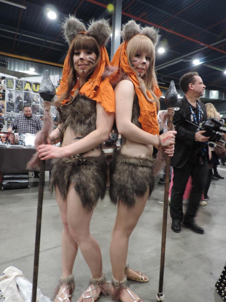 the fierce ewoks by majinmarron