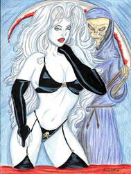 Lady Death by Shondrasu