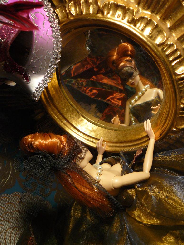Miroir baroque by elbereth de lioncour on deviantart for Miroir argent baroque