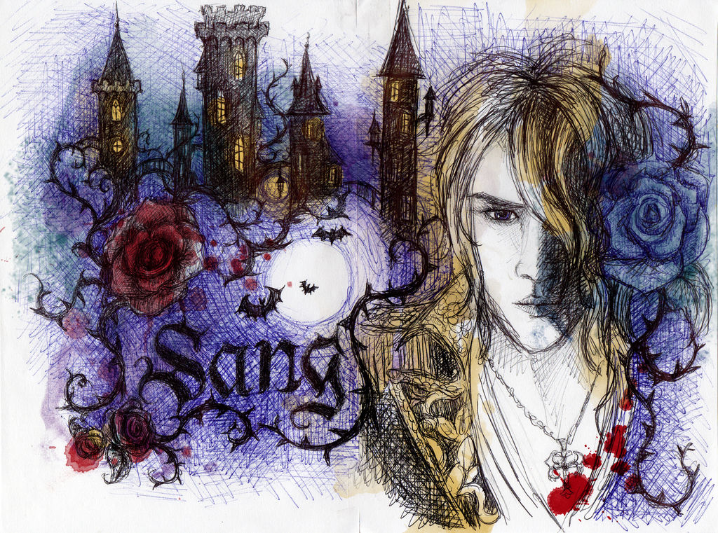Kamijo Sang with photoshop colors add