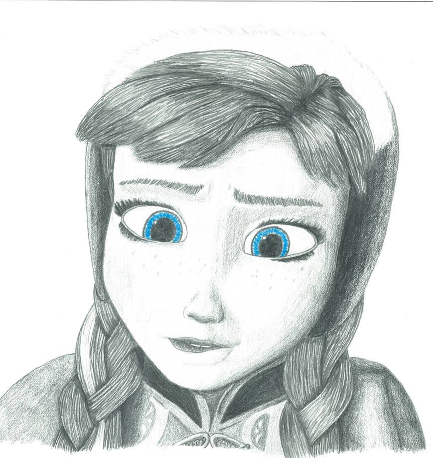 Frozen Anna - Dat Lip Bite