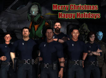 Happy Holidays 2018/2019 from Delta Team by HaloDarkAge