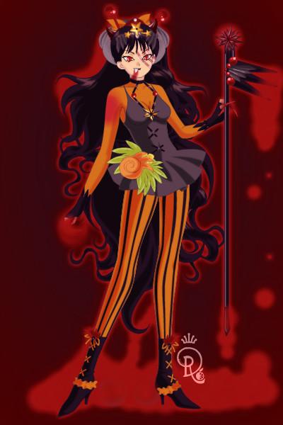 Queen Halloween by CrystalSailorMoon