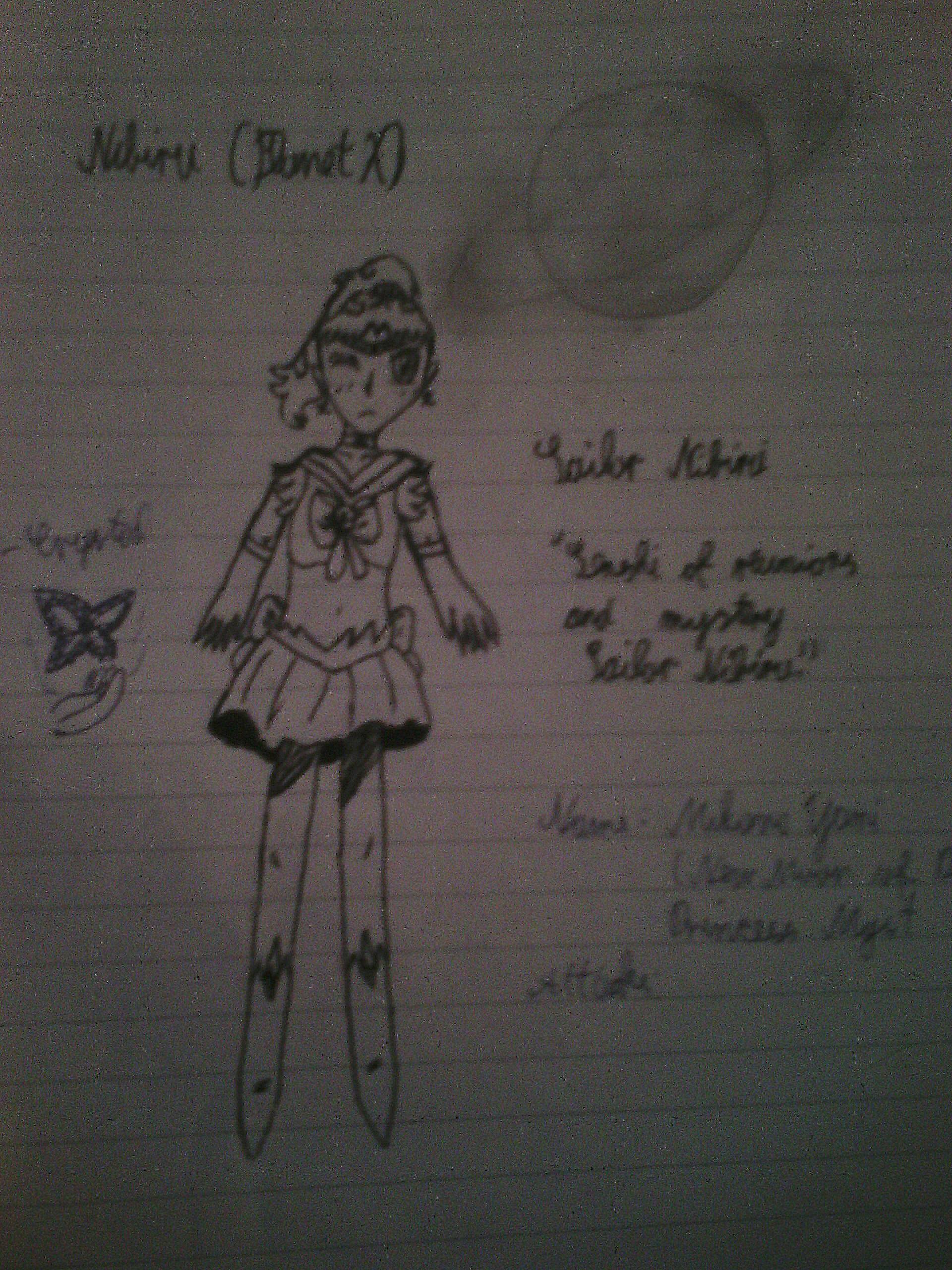 Sailor Nibiru by CrystalSailorMoon
