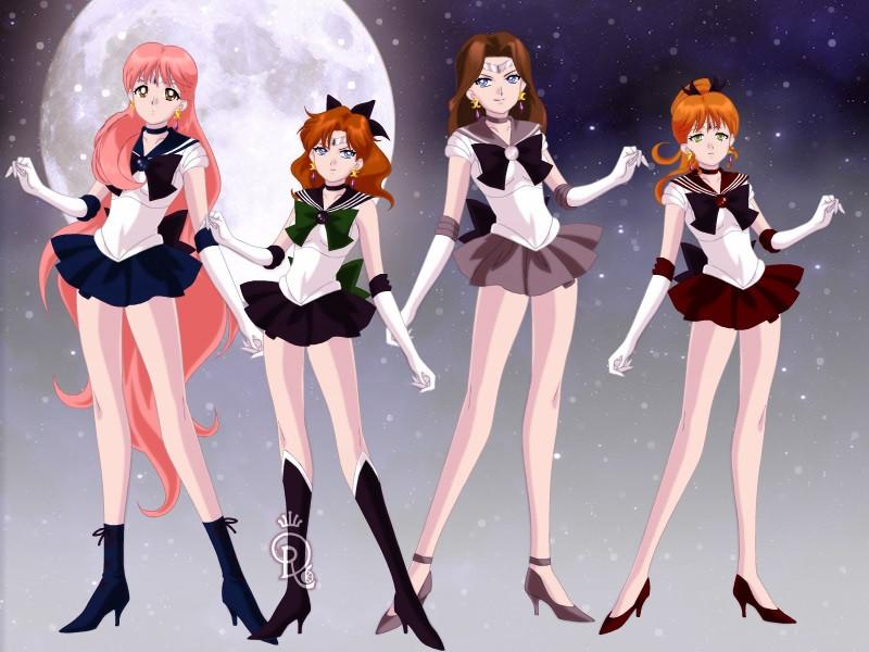 Dark Moon Senshi by CrystalSailorMoon